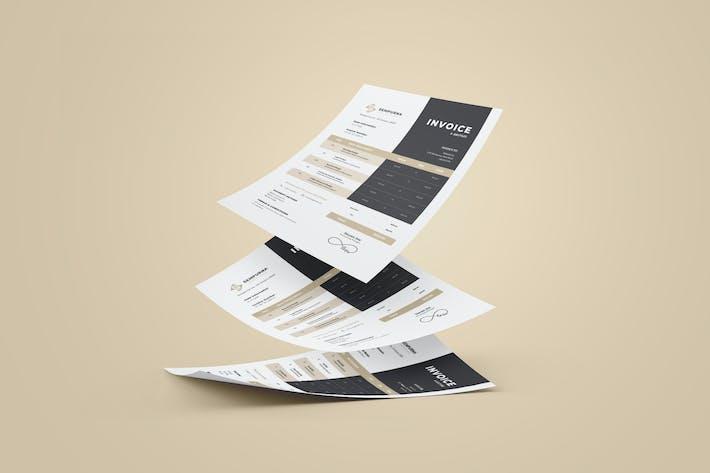 Thumbnail for Premium Invoice Design