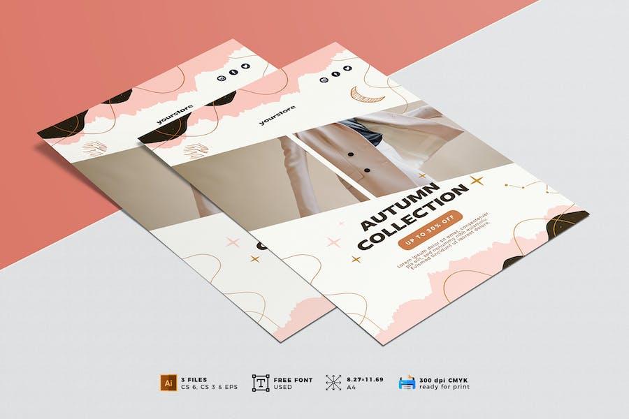 Minimalist Fashion Flyer Vol. 02