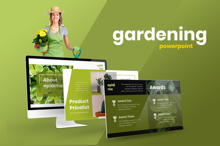 Epideme - Садоводство Powerpoint Презентация