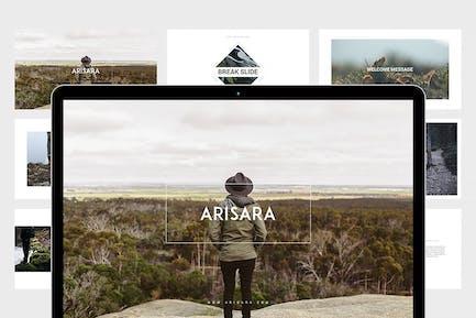 Arisara - Travel Google Slides Template