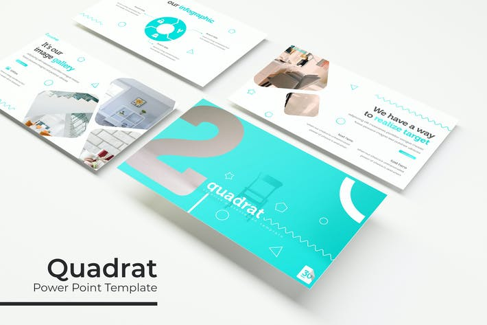 Thumbnail for Quadrat - Powerpoint Template
