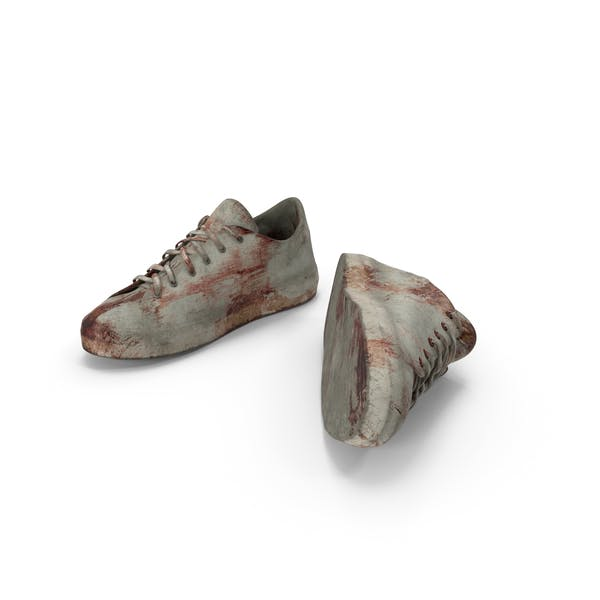 Sneakers Bloodied