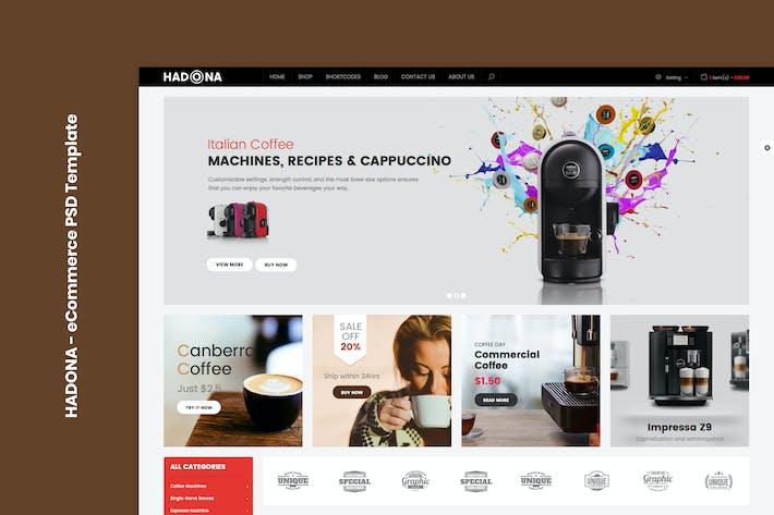 Thumbnail for Hadona - eCommerce PSD Template