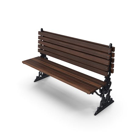 City Bench Chocolate One Sided