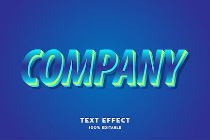 Modern gradient unique text style