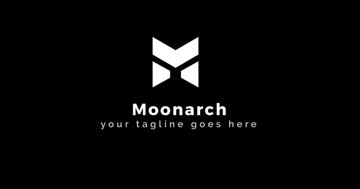 Download Moonarch - Dark M Letter Logo Template by ThemeWisdom