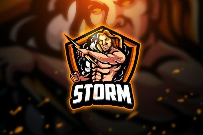 Thumbnail for Storm - Mascot & Esport Logo