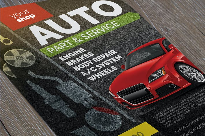 Automotive Business Flyer