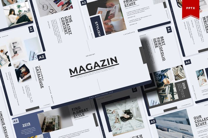 Thumbnail for Magazin | Powerpoint Template