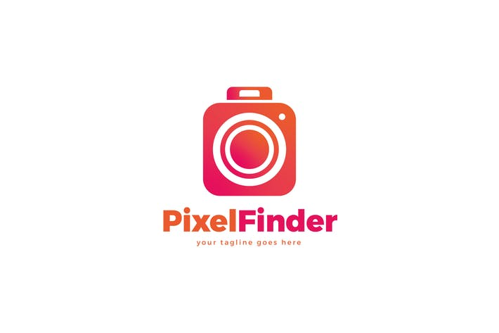 Thumbnail for Pixel Finder Logo Template