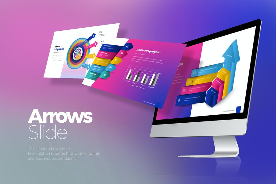 Arrows Google Slides Templates