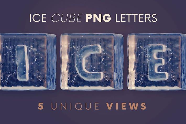 Ice Cubes - 3D Lettering