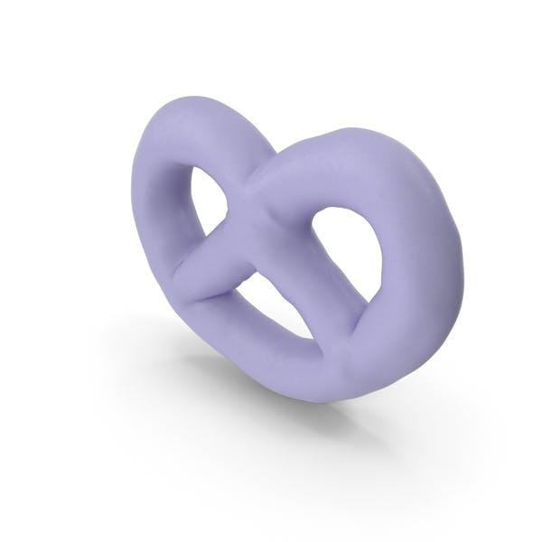Thumbnail for Mini pretzel cubierto de yogur de frambuesa