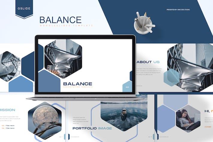 Thumbnail for Баланс - Бизнес Google Слайды Шаблон