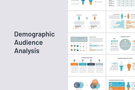 Audience & Demographic Google Slides template