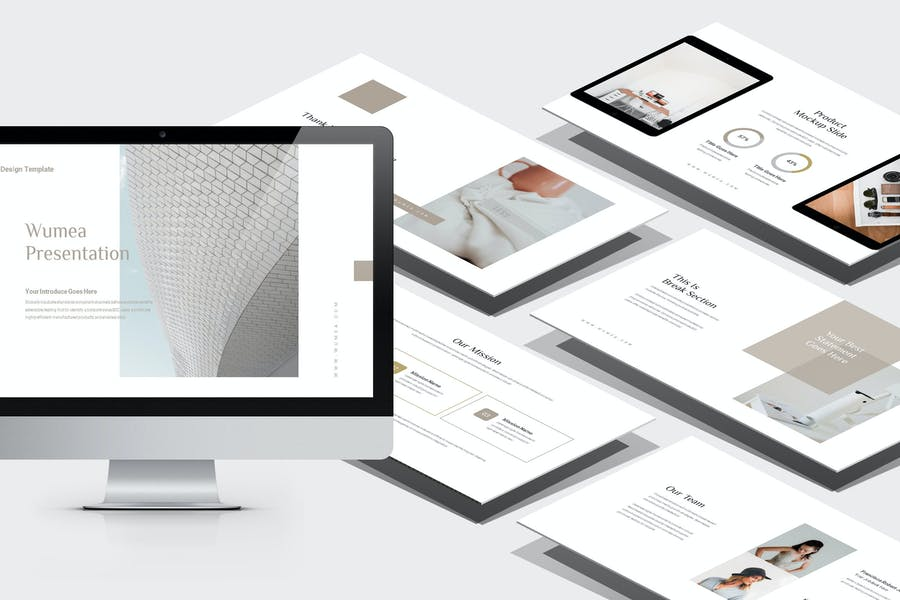 Wumea : Business Strategy Powerpoint