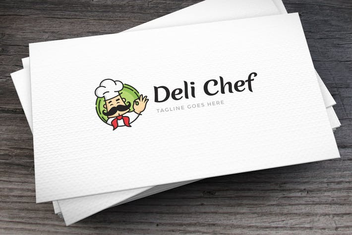 Thumbnail for Deli Chef Logo Template