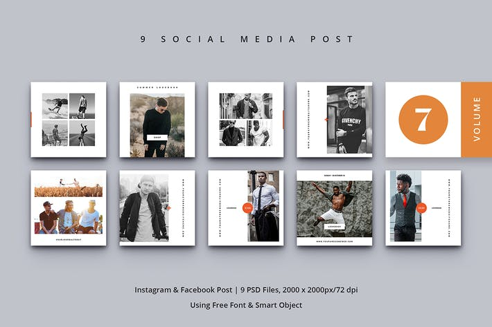 Thumbnail for Social Media Post Vol. 7