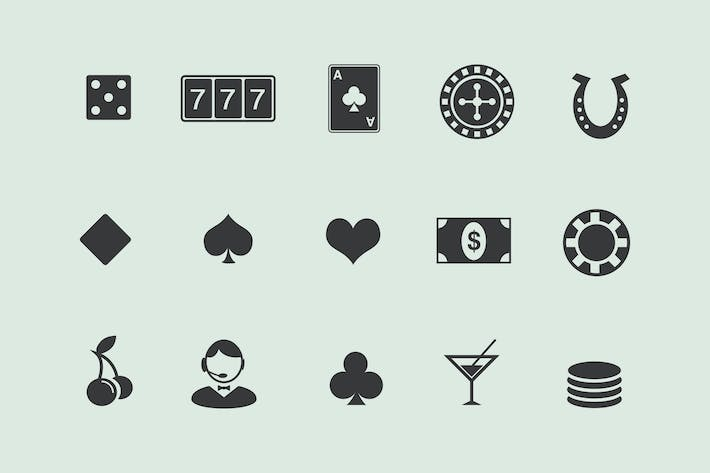 Thumbnail for 15 Gambling and Casino Icons
