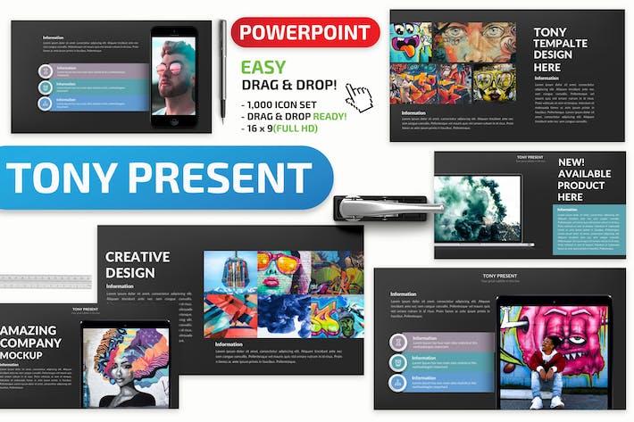 Thumbnail for Презентация Тони Powerpoint