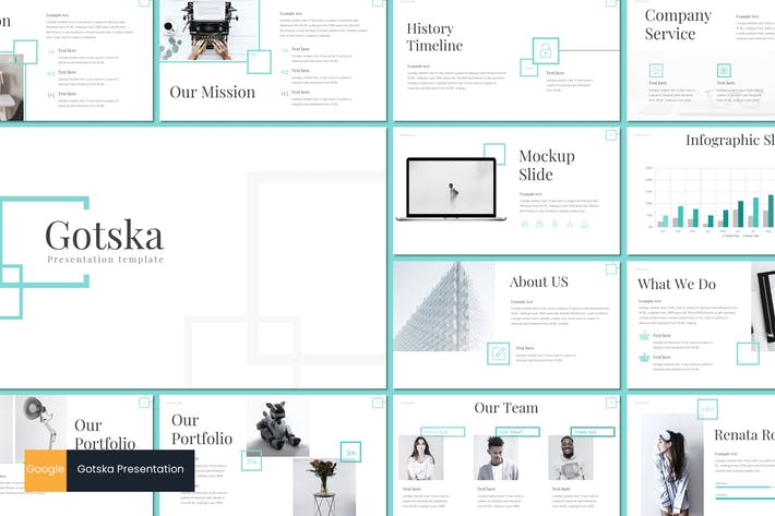Thumbnail for Gotska - Google Slides Template