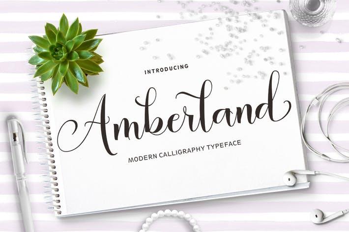 Thumbnail for Amberland Script