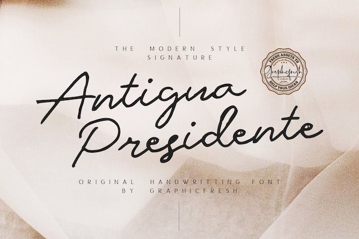 Thumbnail for Antigua Presidente - Tipo de letra
