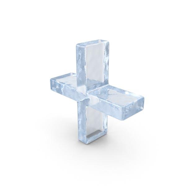 Символ льда плюс
