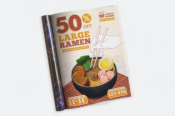 Ramen Ads Magazine