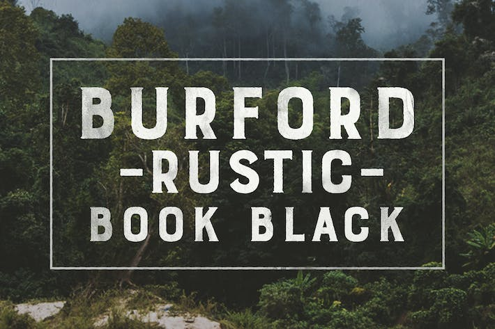 Thumbnail for Burnford Rustic Book Black