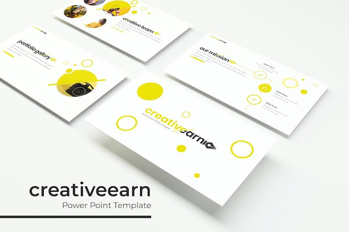 Thumbnail for creativeearn - PowerPoint template