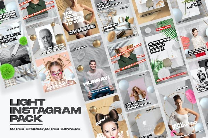 Thumbnail for Light Instagram Pack
