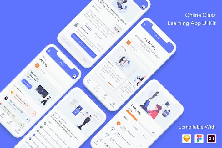 Kit d'interface utilisateur de l'Appli d'apprentissage de classe en ligne
