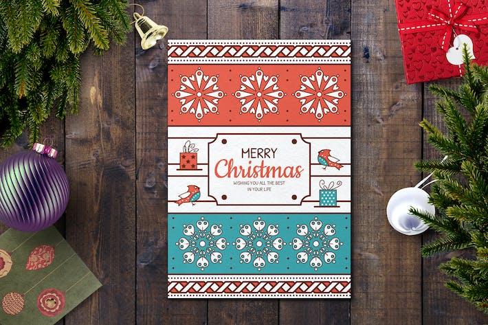 Thumbnail for Modèle de carte de Noël