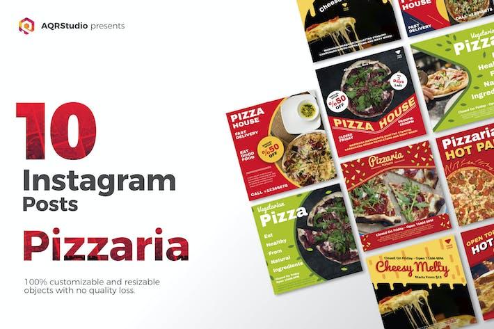 Thumbnail for bannière de médias sociaux Pizza