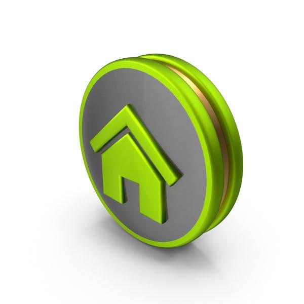 Icono de Inicio Verde