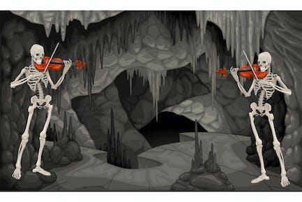 Концерт в пещере