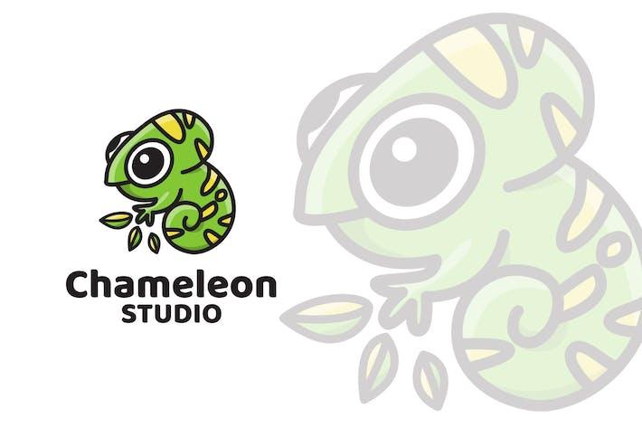 Cover Image For Chameleon Studio Logo Template