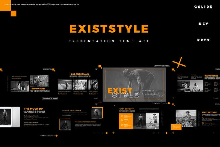 Thumbnail for Exist Style - Presentation Template