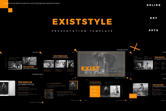 Thumbnail for Существующий стиль - Шаблон презентации