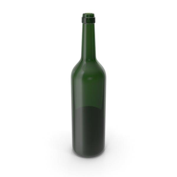 Бутылка вина открыта