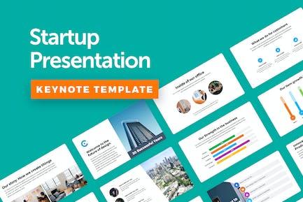 Startup Keynote Template