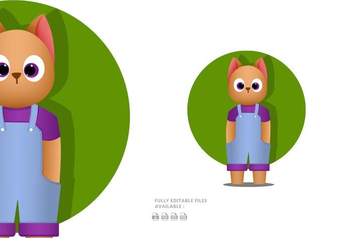 Thumbnail for Cool Cat Illustration