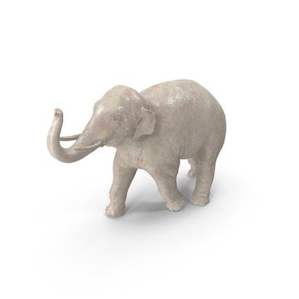 Asiatische Elefantenfigur