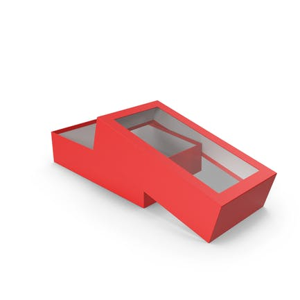Opened Box Red