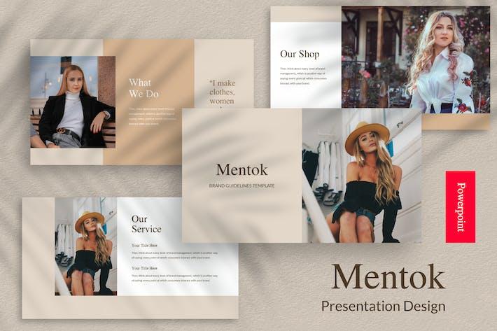 Cover Image For Mentok - Шаблон презентации Powerpoint