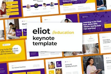 Eliot - Education Template Keynote