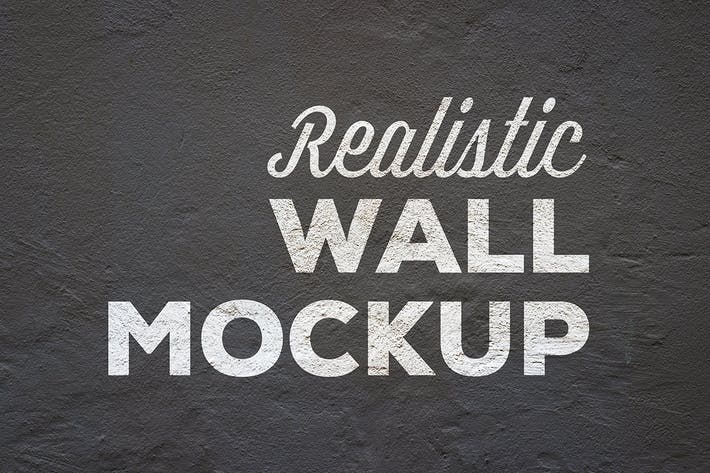 Thumbnail for Realistic Wall Mockup