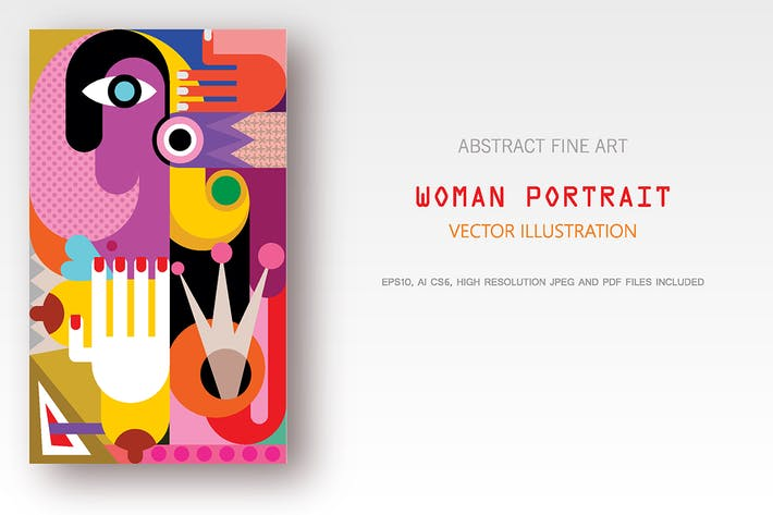 Thumbnail for Woman Abstract Portrait