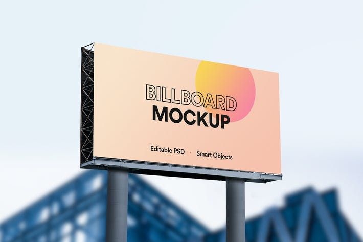 Thumbnail for Billboard Mockup 02